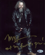 Mark Boone Junior Sons of Anarchy Authentic Signed 8x10 Photo BAS #D78381