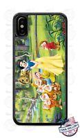 Snow White & Seven Dwarfs Home Design Phone Case Cover for iPhone Samsung etc