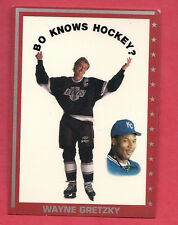 RARE KINGS WAYNE GRETZKY / BO JACKSON BO KNOWS HOCKEY CARD