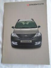 Citroen C3 XTR brochure Feb 2004