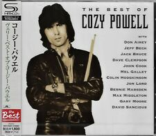 BEST COZY POWELL OF JAPAN 2013 RMST SHM CD - RAINBOW WHITESNAKE BRAND NEW/SEALED