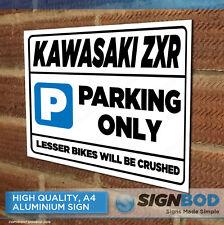 KAWASAKI ZXR Owner Parking Metal Sign Gift - Birthday Present