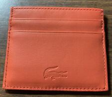 Lacoste card holder wallet