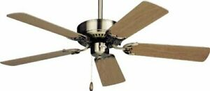 """Emerson Northwind 42"""" ceiling fan Polished Brass Snugger Mod CF704SPB JDA-15A01"""