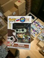 Funko Pop! Around The World Pasha #11 Russia w/Pin, MINT, Sold-out! UPS SHIP!