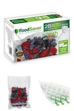 28 Pint-sized Pack Vacuum Zipper Bags Fresh Food Saver BPA Free Microwave Safe