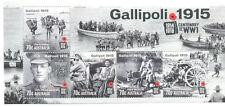 Australia-Gallipoli min sheet World War I-Military-mnh