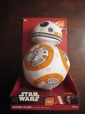 Star Wars Talking Plush BB-8 NIP