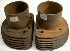 1956-59 AJS Matchless G11 600cc 7 fin pair cylinders S