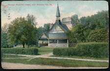 MONTEREY INN PA Hawleys Memorial Chapel Antique Postcard Early Old Vtg PC
