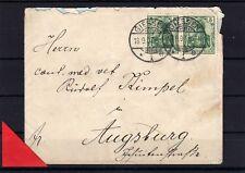 Beleg mit Nr. 85 I - Paar - 18.9.1907  ( 21238-o1 )