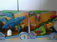 Imaginext Jurasic Park World Mosasaurus & Dilophosaurus Free Shipping Lower 48