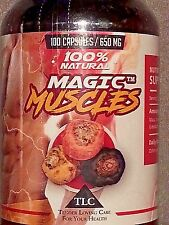 MAGIC MUSCLES - SUPER NATURAL TRIPLE MACA MUSCLE and HOT BOOTY BUILDING FORMULA