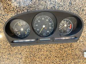 Mercedes 74-78 R107 C107 450 SL SLC Speedometer Instrument Cluster 119,439 Miles