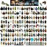 Star Wars Minifigures Darth Vader Obi-Wan Skywalker Jedi Ahsoka Mini figure Lego