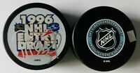 Reed Low signed St Louis Blues 1996 NHL Entry Draft Puck w/ Free Cube