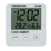 LCD Digital Indoor Thermometer Hygrometer Room ℃/℉ Temperature Humidity V0Y3