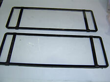 NSW 6 Figure Number Plate Covers Clear Perspex Sent Registered Post