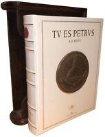 Libro Numismatica TU ES PETRUS AD MDVI Alteri Medaglie Medaglioni papali Chiesa