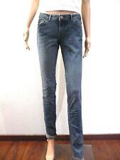 Jean ♥ ZARA ♥ Taille 38 W28 bleu délavé slim femme longues jambes