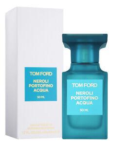 Tom Ford Neroli Portofino Acqua Eau De Toilette1.7 Oz   50 Ml New In Box, Sealed