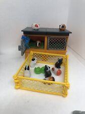 Playmobil Guinnea Pig Hutch And Run