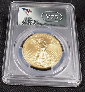 SALE***2020-W $50 Burnished Gold Eagle SP70 *** ONLY 7000 made