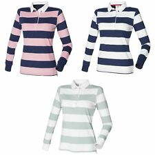 Striped Collared Tops & Shirts Plus Size for Women