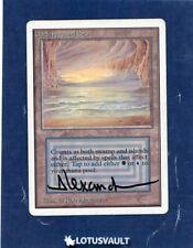 MTG - Unlimited: Underground Sea (Signed) [LV2163]