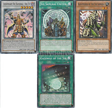 Six Samurai Tournament Deck - Shi En  - Kizan - United - Shinai  41 Cards Yugioh