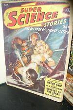 SUPER SCIENCE STORIES US PULP MAGAZINE MARCH 1950