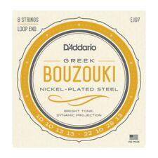 D'Addario EJ97 Greek Bouzouki Strings - Nickel Plated 8 String Loop End Set