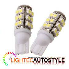 2 x 25 SMD LED XENON PURE WHITE LED 501 T10 W5W INTERIOR LIGHT SIDELIGHT BULBS