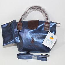 Borsa Greenwich POLO CLUB Ralph Lauren blu marrone tracolla e pochette donna 468f203bb4d