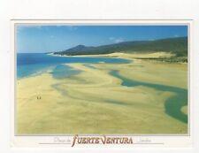 Playa de Fuerte Venture Jandia Spain 1999 Postcard 364a