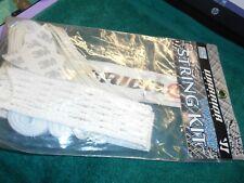 New Warrior Lacrosse 6 Diamond String Key U-Sk6Da Diff Emblem White Fm05