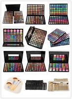 180/225 Farben Camouflage Makeup Lidschatten Eye Shadow Palette Set Pinsel