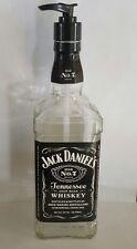 Best Whiskey Tall Glass Liquid Soap Kitchen / Bathroom Dispenser