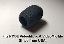 Foam Windscreen Muff Shield for RODE VideoMicro Micro VideoMicMe USA SELLER!