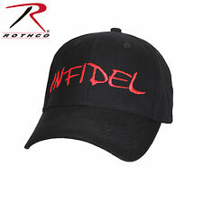 Infidel Deluxe Low Profile Baseball Tactical Cap Contractor Range Hat - Black