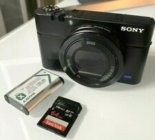 SONY DSC-RX100 M3 20.1 MP CYBER-SHOT DSC-RX100M3 w/ 64GB SD CARD