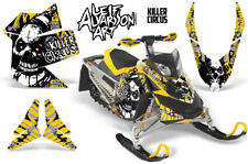 Ski-Doo Rev XP Decal Graphic Kit Sled Snowmobile Sticker Wrap 2008-2012 CIRCUS Y