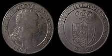 pci778) Napoli regno Ferdinando IV grana 120 piastra 1805 - UNCLEANED