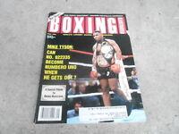 SEPT 1994 BOXING ILLUSTRATED magazine MIKE TYSON