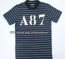 65% OFF! AUTH AEROPOSTALE MEN'S A87 APPLIQUE STRIPED TEE MEDIUM SRP US$19.99