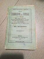 Della Fabbricazione dei Formaggi G. Gorini Brigola Milano 1873 2° Edizione
