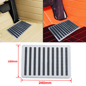 Universal Iron Car Floor Carpet Mat Patch Foot Heel Plate Pedal Pad Solid Cover