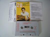 ELVIS PRESLEY 20 GREATEST HITS VOL.1 CASSETTE TAPE RCA UK 1981