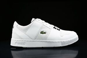 NEW IN BOX LACOSTE MEN CROCODILE LOGO THRILL LEATHER SNEAKERS SHOES ORDHOLITE