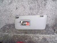 HONDA CRV 2002-2004 MK2 PASSENGER SIDE GREY SUN VISOR N/S